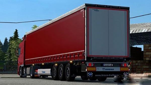 Red kroone trailer