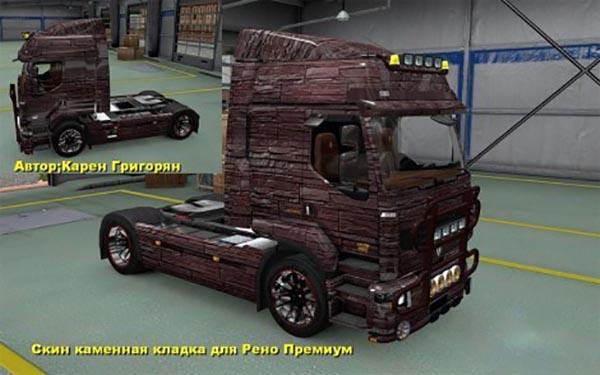 Renault Premium and Magnum Stone Skin