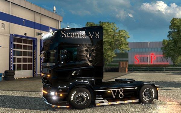 Scania Ghost Skin