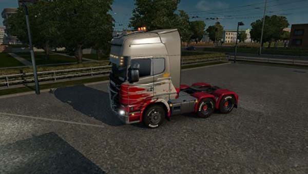 Scania Polish Painting