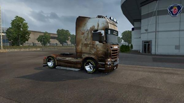 Scania R Hors Skin