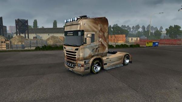 Scania R Lada Skin