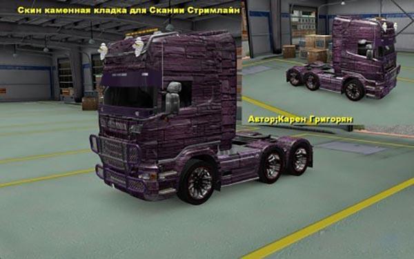 Scania R and Streamline Stone Skin