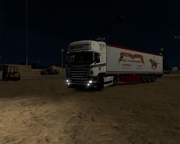 Scania RJL De Klein skin