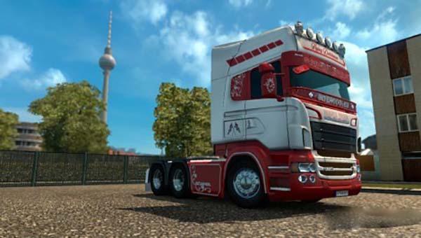 Scania RJL Flying Dutchman Skin v 2.0 FINAL