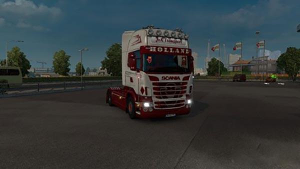 Scania RJL JVK Transport Holland Skin