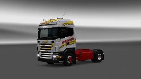 Scania RJL Menath Skin