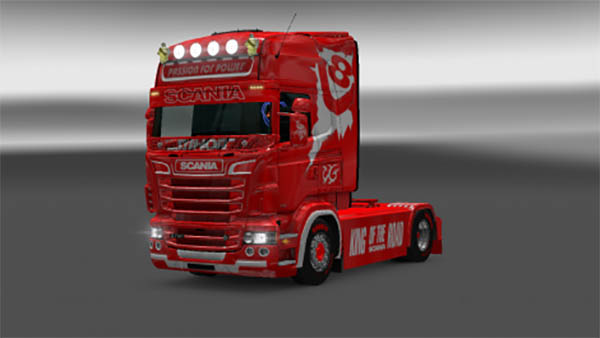 Scania RJL Passion For Power Skin