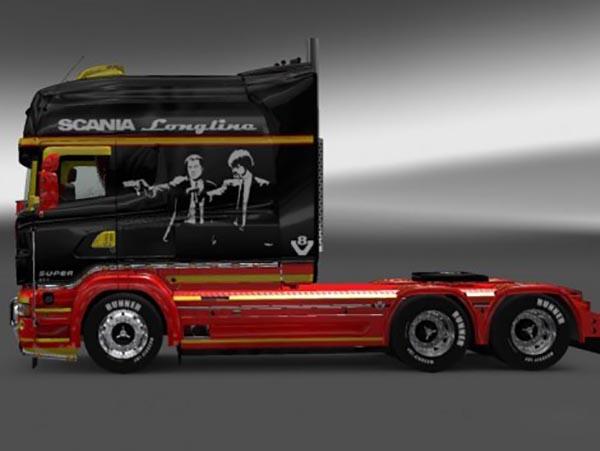 Scania RJL R Longline Pulp Fiction Skin