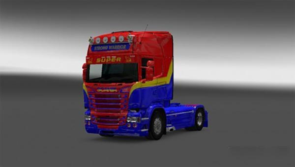 Scania RJL Strong Warrior Skin