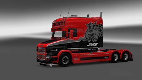 Scania RJL T Longline Skin