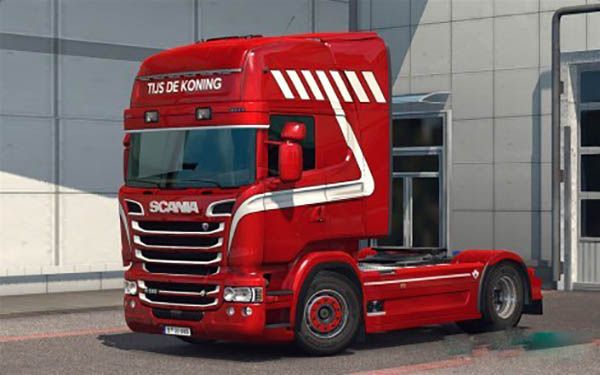 Scania RJLs RS Tijs de Koning Skin