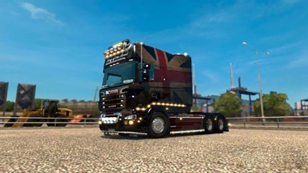 Scania RS (RJL) Flag Skin