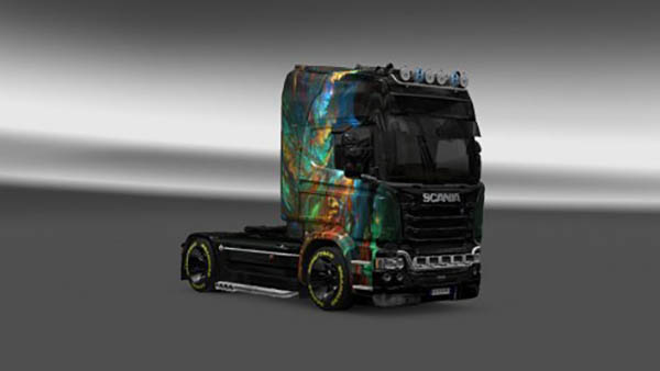 Scania Streamline Branch Skin v 2.0