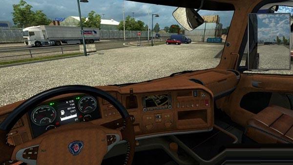 Scania Streamline Interior v 2.0
