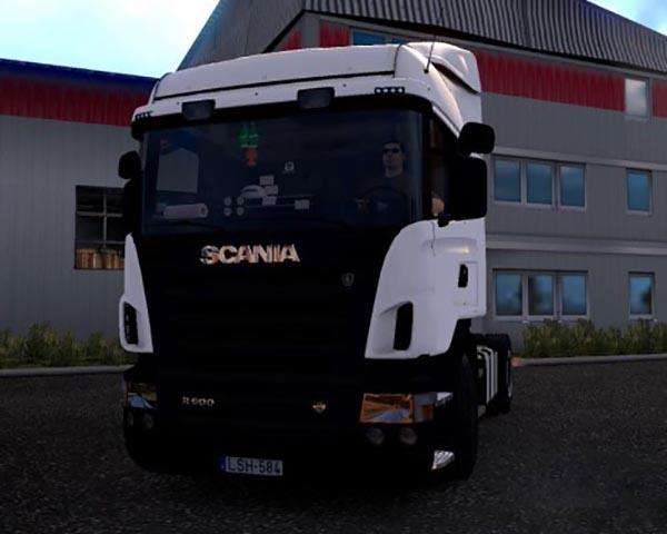 Scania r500 v8 v2
