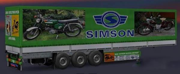 Simson trailer