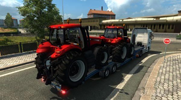 Single Trailer – Case IH Magnum 340