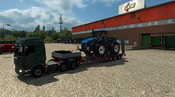 Single Trailer New Holland T9560