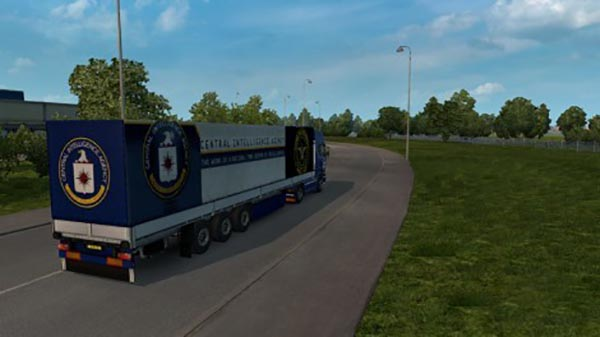 Skin C.I.A. for Scania Streamline + trailer