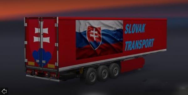 Slovak Transport Trailer