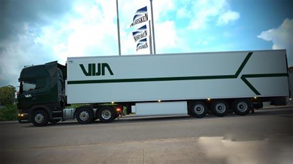 Vijn Transport Scania RJL Combo skin pack