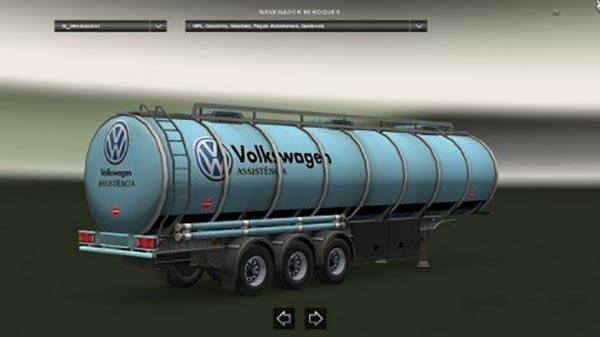 Volkswagen Assistencia Diesel Trailer