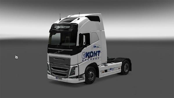 Volvo FH 2012 Ekont Skin