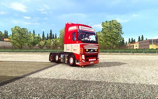 Volvo FH Classic by Peerke145 for 1.22 + DLC Cab