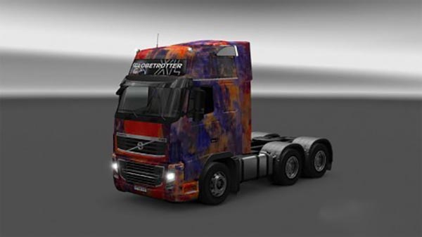 Volvo FH16 abstract skin
