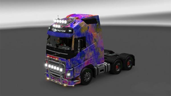 Abstract skin for Volvo FH
