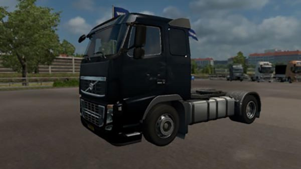 Volvo FH16 2009 Black Panther Skin