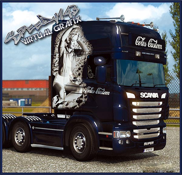 Coles Custom skin for RJL Scania