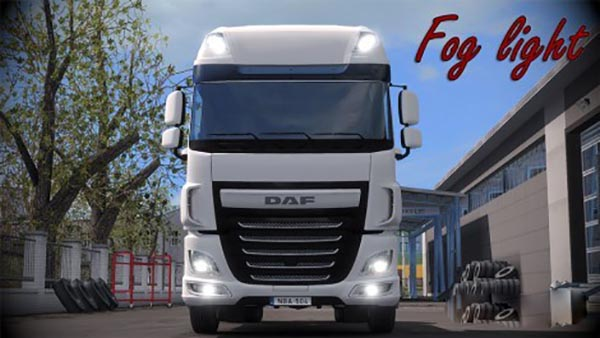 DAF XF 116 Fog Light