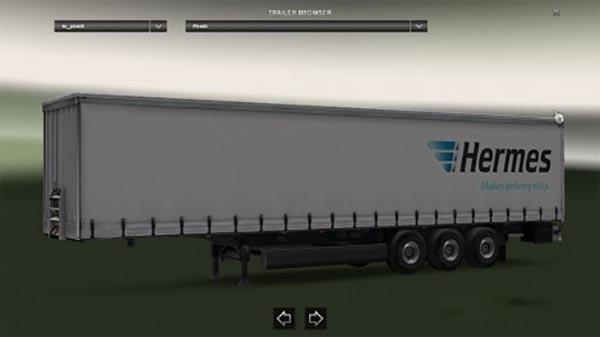 Hermes trailer
