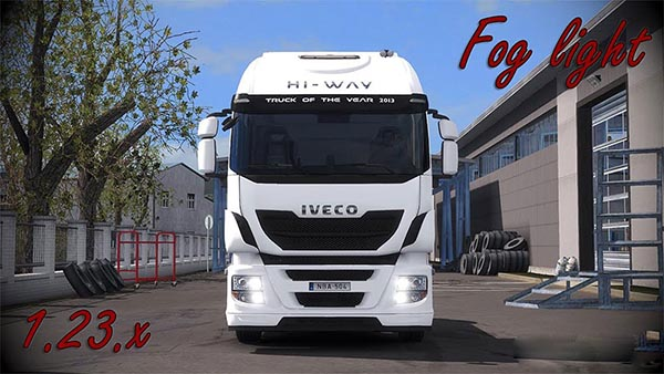 Iveco Hi-Way Fog light v1.5