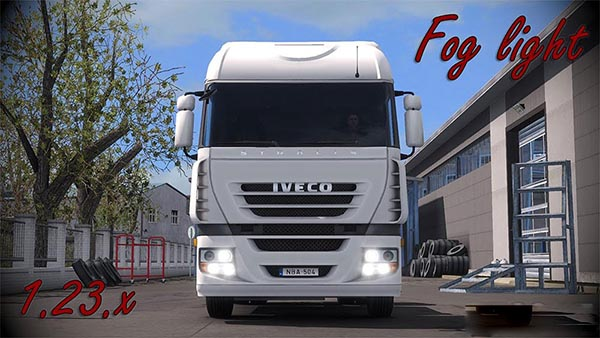Iveco Stralis Fog light v1.5