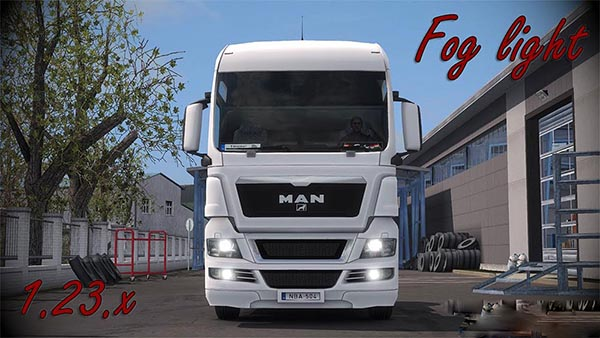 MAN TGX Fog light v1.5