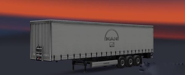 MAN Trucks Trailer Skin