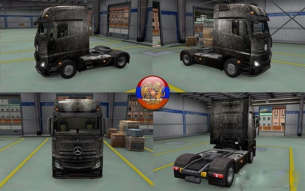 Mercedes Actros MP4 Bronze Skin