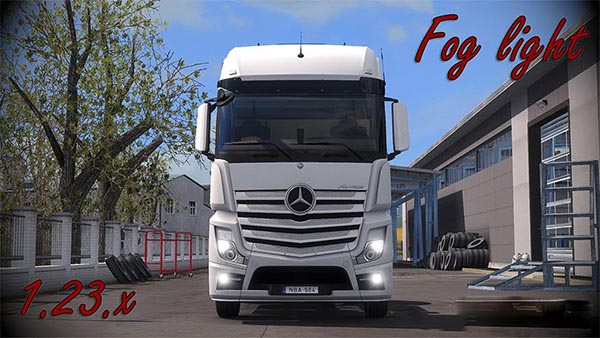 Mercedes Actros MP4 Fog light v1.5