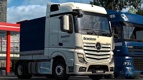 Mercedes Actros MPIV Braxstone skin