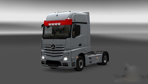 Mercedes Actros Sunvisor