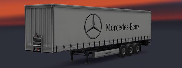 Mercedes Benz Trailer Skin v 1.2
