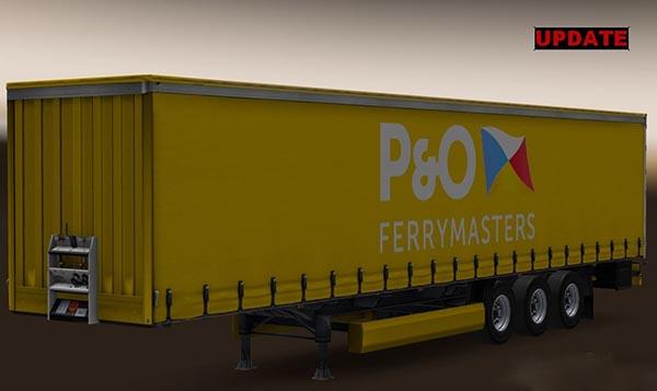 P&O Profiliner Trailer
