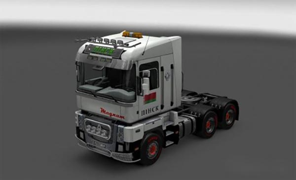 Pack skins City for Renault Magnum