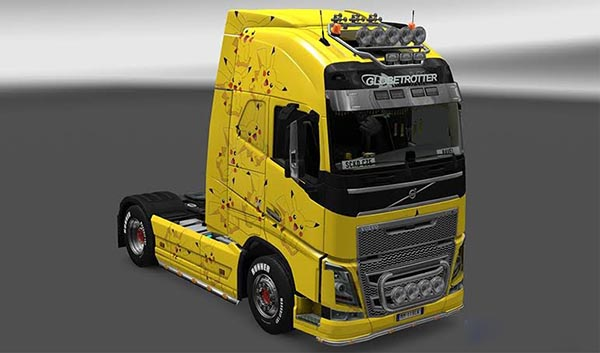 Pikachu Paint for Volvo