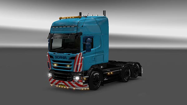 Scania Limited Edition Skin for RJL