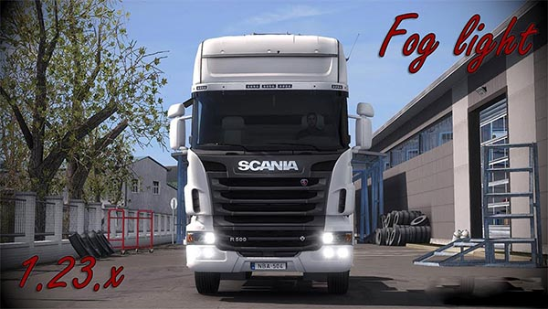 Scania R Fog light v1.5