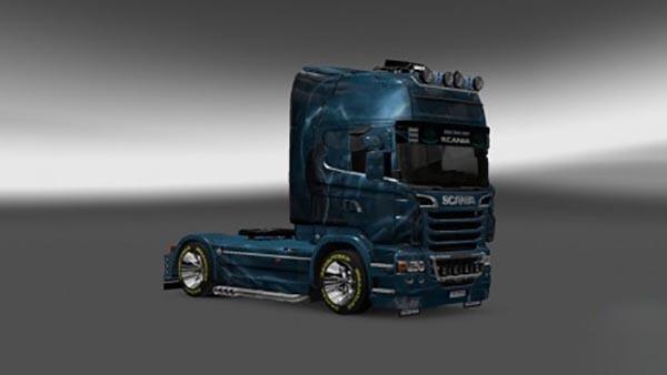 Scania R2009 Wolf Skin